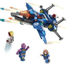 435 PCS ABS Plastic Material Spaceship Building Blocks With 4 Mini Heroes Action Figure Construction Style Kid Toys