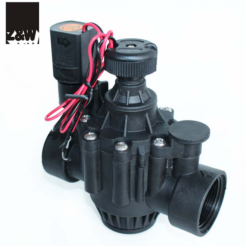 1.5inch <strong>11</strong>/2&quot; electric magnetic solenoid plastic irrigation valve 150P remote flow control globe and angle