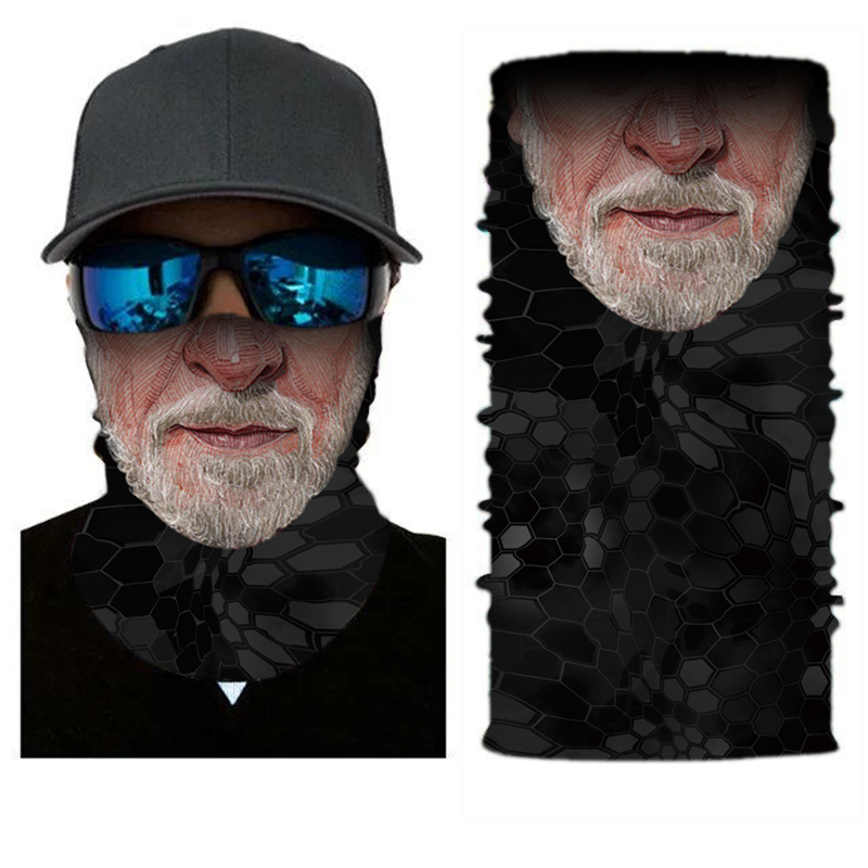 <strong>Custom</strong> Sublimation Printing Seamless Outdoor Cycling Microfiber Neck Tube Bandana For Promotion