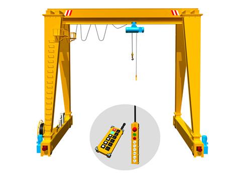 2ton  5ton 10ton 16ton 20ton Electric Single Girder Gantry Crane With Hoist