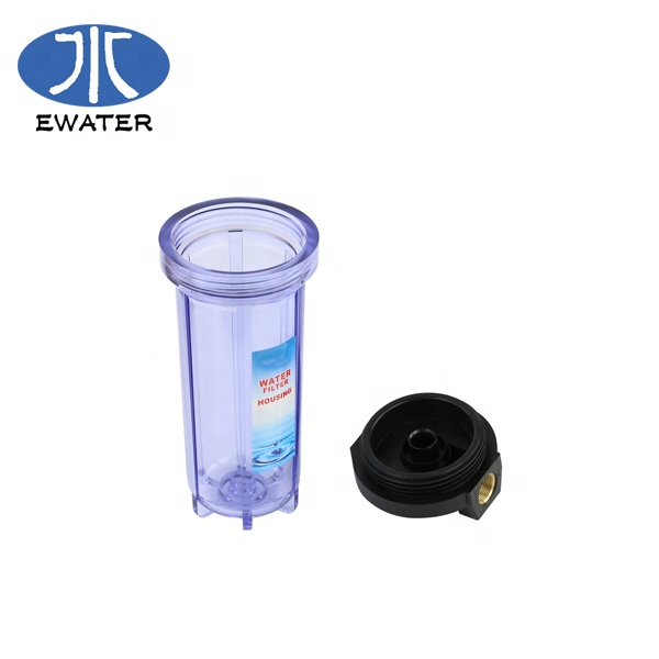 <strong>Manufacturer</strong> 10&quot;/20&quot; Single Stage PVC Plastic RO Slim Big Blue Water Filter Housing For Water