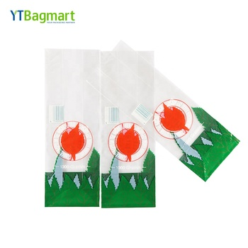 Manufacturers Printed Bopp Clear Plastic Flat Side Gusset Packaging Bag