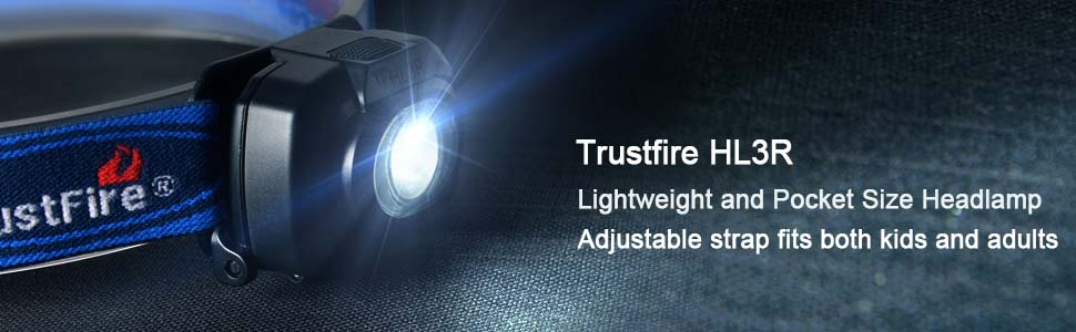 Trustfire Hl3r Rechargeable Bike Medical Headlamp Led Headlight Head Lamp Flashlight Camping Headlamp Light