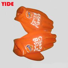 Pvc Custom Design Giant Inflatable Palm Outdoor Game Plastic Hand