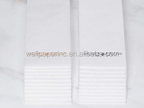Soft and Absorbent Linen-Feel Guest Towels for Parties, Weddings, Dinners, Events