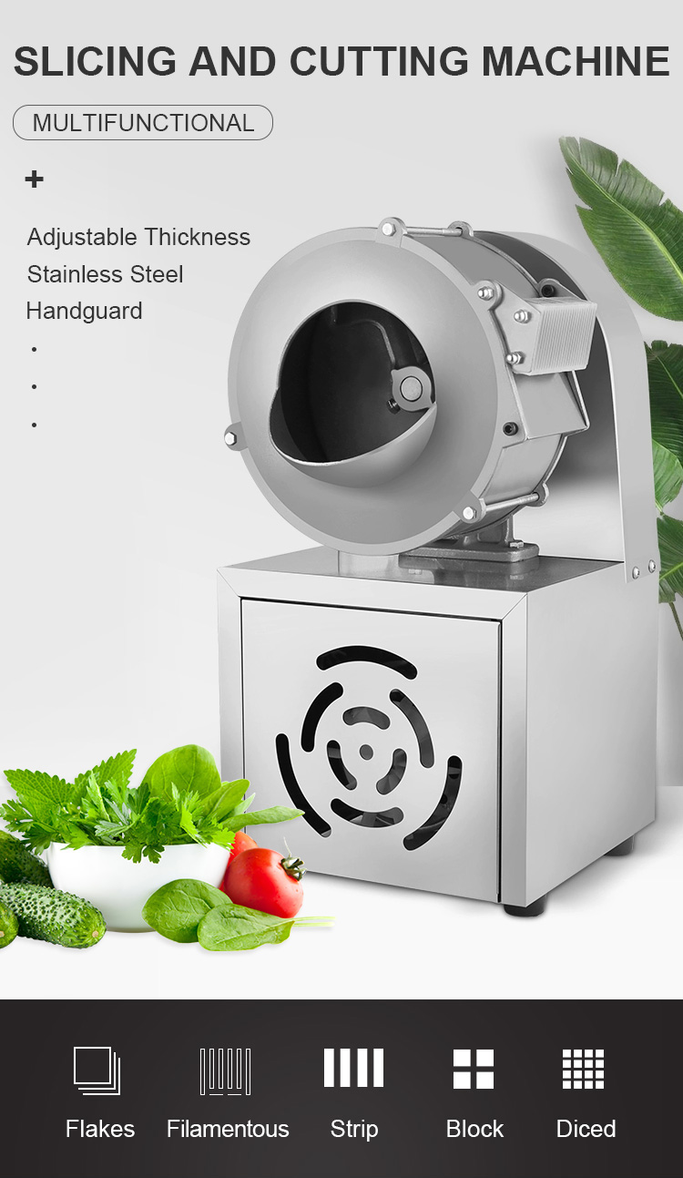 Cutter Food Vegetable Kitchen Tool Equipment Appliance Ware Cutting Processing Machinery Machine
