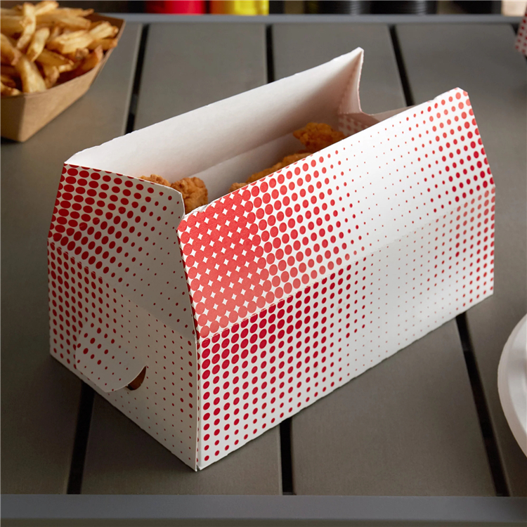 Custom Printed Take Out Paper Fried Chicken Boxes with Logo
