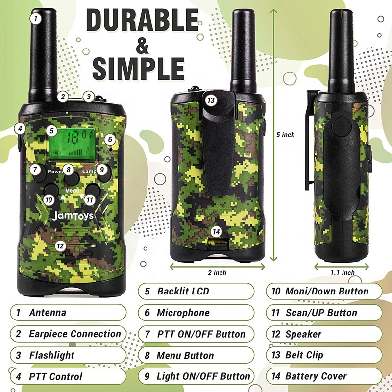 License free mobile walkie talkie phone T48 cheap two way radio communication equipment