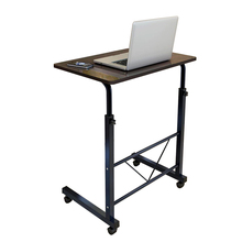 Simple design foldable recliner lazy folding adjustable laptop height adjustable movable computer <strong>table</strong> computer desk for bed
