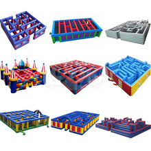 giant corn kid game adult outdoor rental playground inflatable maze for sale