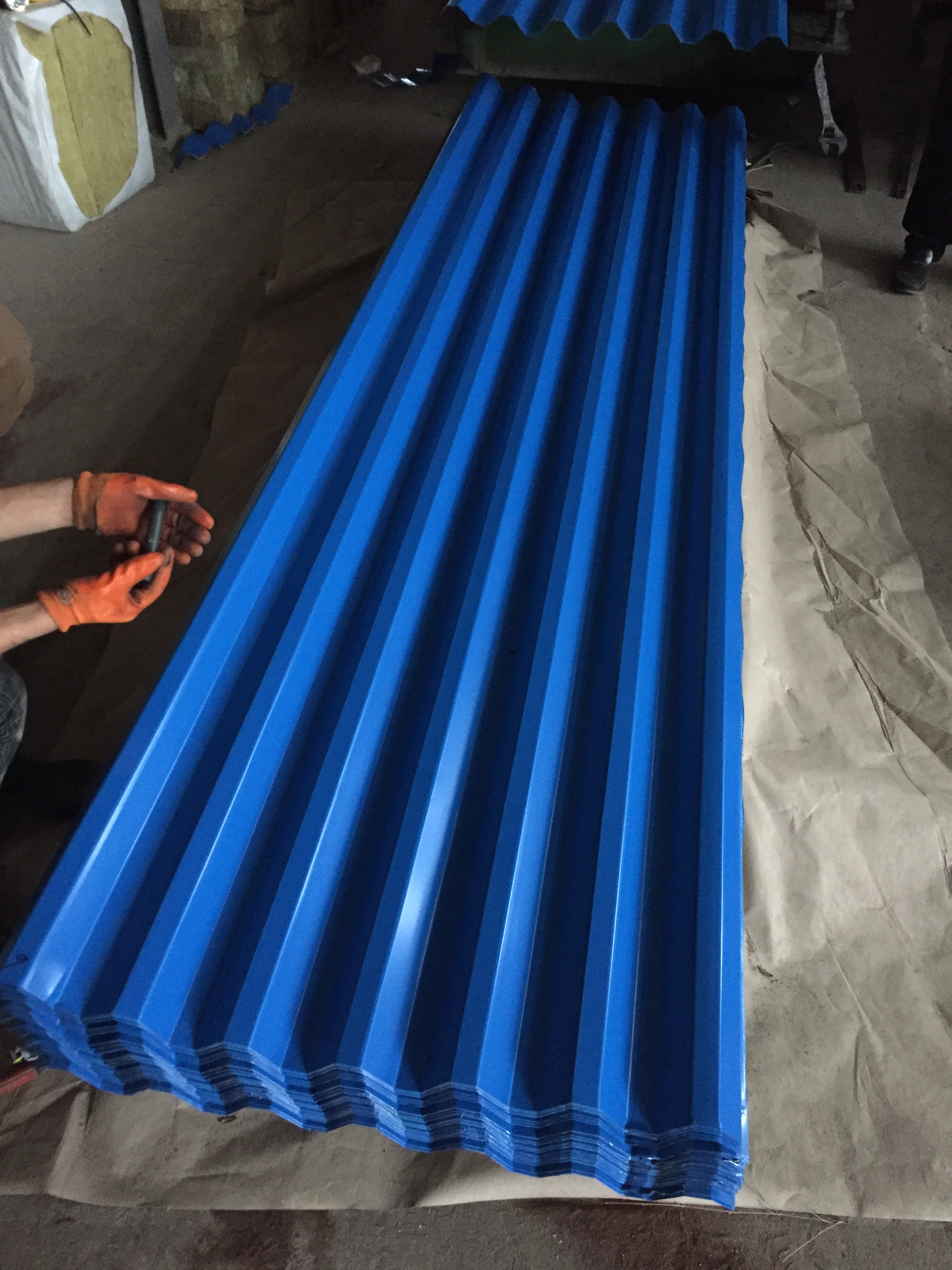 building material prepainted metal sheeting galvanized black iron sheet