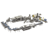 High speed high quality bottled water filling and packaging line for mineral water