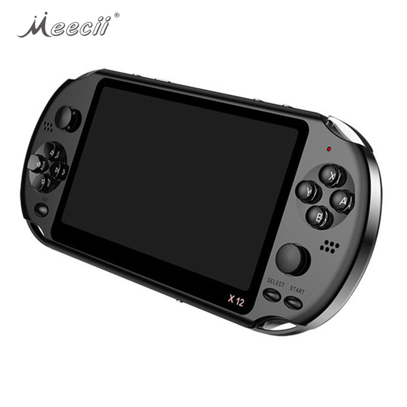 For PSP Player 3500 Childhood Classic Games <strong>X12</strong> Portable Handheld Video Game Console 8GB 5.1'' 32 Bit Handheld Game Player