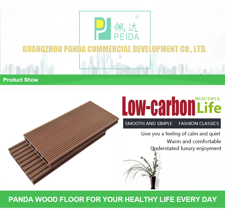 Foshan WPC Composite Terrace Lamin Engineered Floor Panel Board
