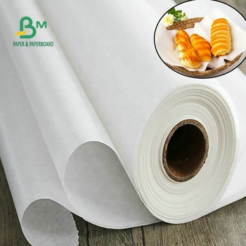 30gr 35gr 40gr White MG Butcher Paper Roll For Wrapping Meat