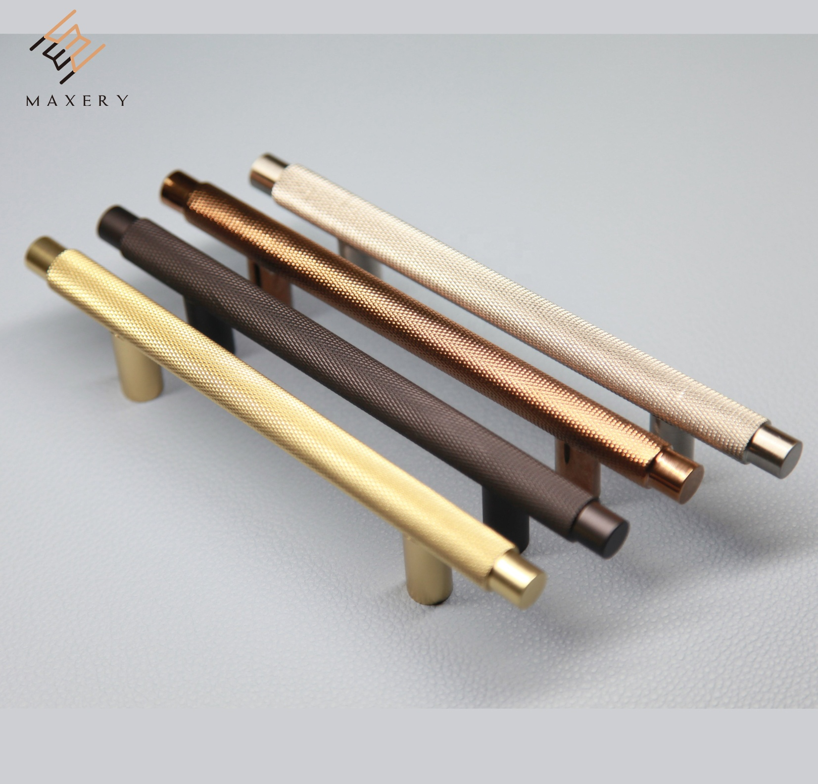 Brass/copper unique furniture <strong>handle</strong> designer knurling furniture/Cabinet <strong>handle</strong>