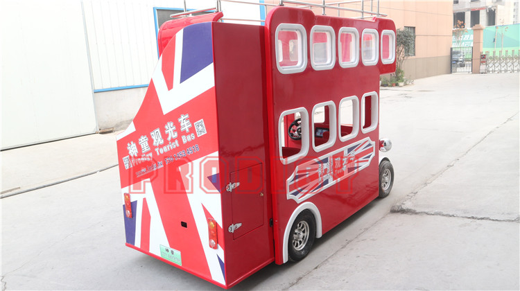 Fast delivery popular 20 seats electric tourist  bus ride london double decker bus