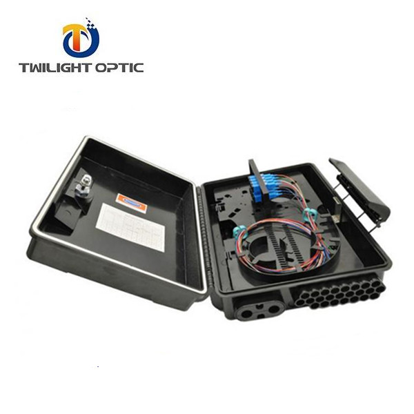 Caja Nap Ftth wall/pole mount FTTH <strong>network</strong> 24 cores SC adapeters FDB fiber distribution box China factory