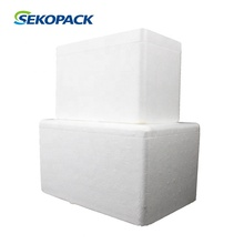 EPS polyfoam foam shipping <strong>containers</strong> with cardboard boxes