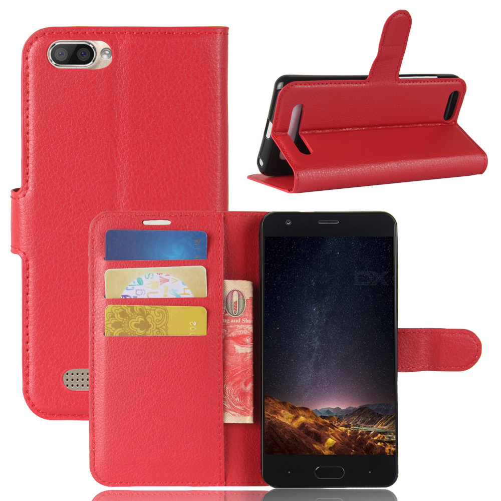 Suitable For Doogee X20 Wallet Leather Case Pu+ Soft Tpu Case Wallet Phone Case