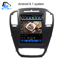 prelingcar android 9.0 system Vertical screen car gps multimedia video radio player for opel insignia car navigation stereo