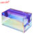 Yaeshii Candy Laser PVC Transparent Makeup Bag