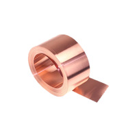 99.9% Pure copper tape / strip / foil Factory Soldering Aluminum copper foil Insulation tape lowes price