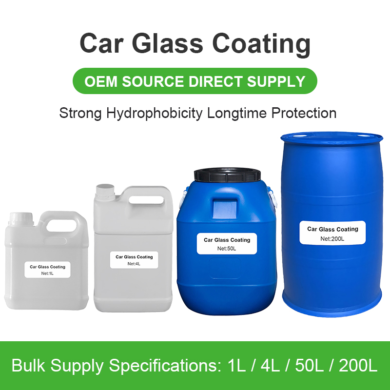 Factory bulk OEM customize Super Hydrophobic Nano Glass Coating For Car Thermal Insulation Uv Ir Blocking