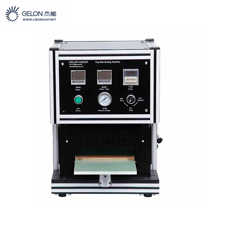 pre-vaccum sealing machine as lithium pouch cell lab machine