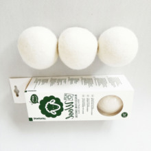 Best Selling Products 2020 New Trending Amazon in USA Amazon private label Organic Wool Dryer Balls for Laundry Washing Machine