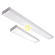 Cheapest price 4 feet 40/50w Acrylic material white supermarket Led ceiling light hanging warparound