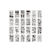 36 PCS Planner Set Diary Notebook Journal Stencil