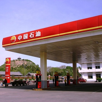 Best price steel structure gas filling station for sale