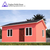 Modern slope roof prefab house design light steel structure building modern prefab duplex house