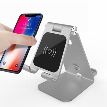 Wireless phone Charger 10w wireless Power qi Fast Wireless Charger Stand