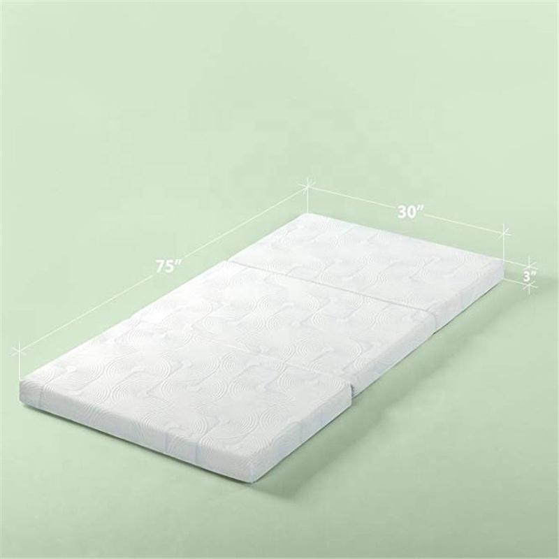 Queen Size Tri-Fold Gel Memory Foam Mattress - Jozy Mattress   Jozy.net