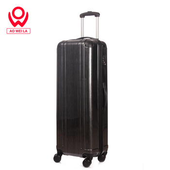 Aoweila 32 inch large capacity suitcase, ABS + PC hard shell wear-resistant luggage, customized brushed texture suitcase