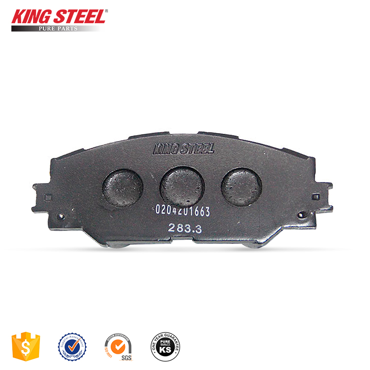 Wholesale Standard Weight Japanese Technology Genuine China Factory Ceramic Car Auto Brake Pad For Toyota Korea Janpan corolla
