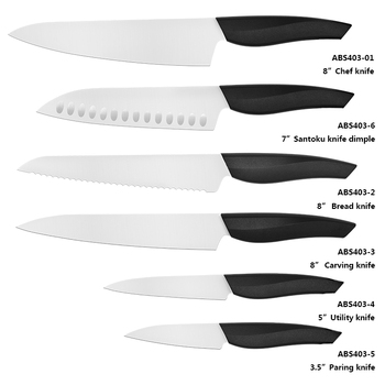 Dmascus Chef Knife Set Wood Handle Blank Blade Butcher Miracle Ceramic Single Edge 8 Damascus 6 Inch Shun