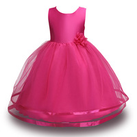 Children's Costume Princess Summer Wedding Birthday Party Kids Dresses For Girls