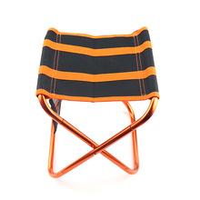 Outdoor Folding Chair 7075 Aluminum Alloy Fishing Camping Chair BBQ Stool Folding Stool Portable Travel Train Chair