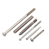 Fastener factory manufacture special head security 201 304 316 stainless steel screw