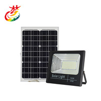 Solar Flood Lights Outdoor Spotlight IP66 Waterproof with Remote Controller Built-in Battery Solar Panel 25W 40W 60W 100W 200W