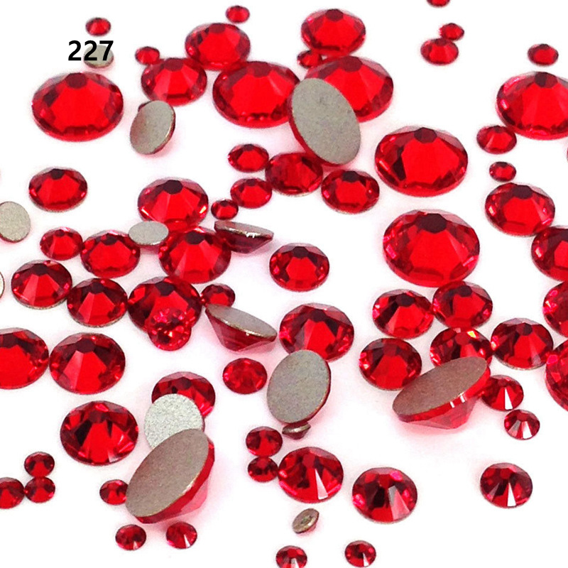 New color stone crystal AB color ss20 Hotfix rhinestone High quality hot drilling glass rhinestones with glue