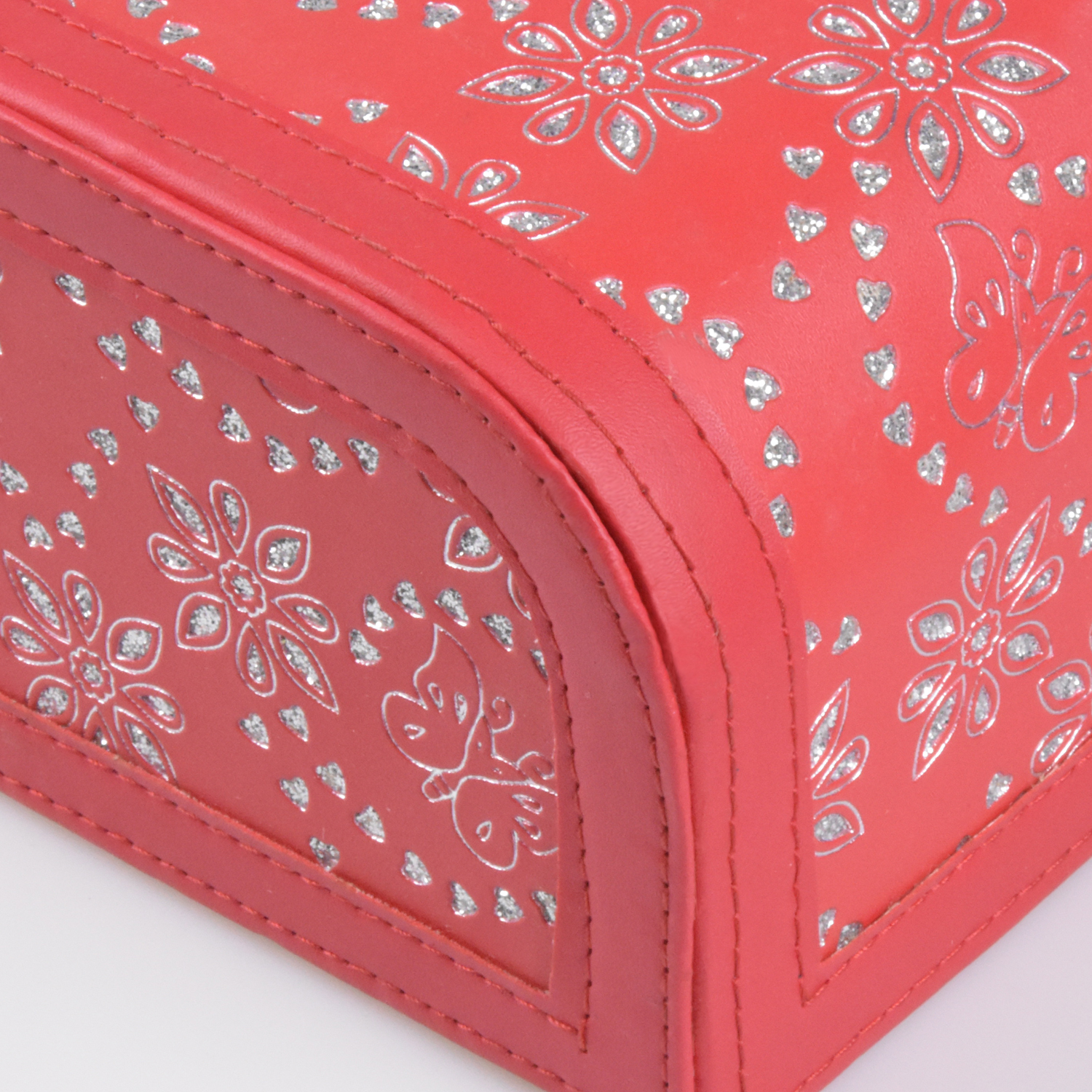 Factory Custom Chinese Luxury Home Office Desktop PU  Leather Tissue Box