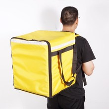 Big waterproof thermal Insulated Food Delivery Grocery <strong>Bag</strong> For Catering, Restaurants Delivery Drivers 77L Backpack delivery <strong>bag</strong>