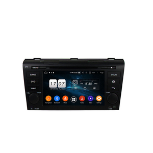 Factory price Android 9.0 system 4GB+32GB 7 inch touch screen car dvd multimedia player for Mazda 3 2004-2009