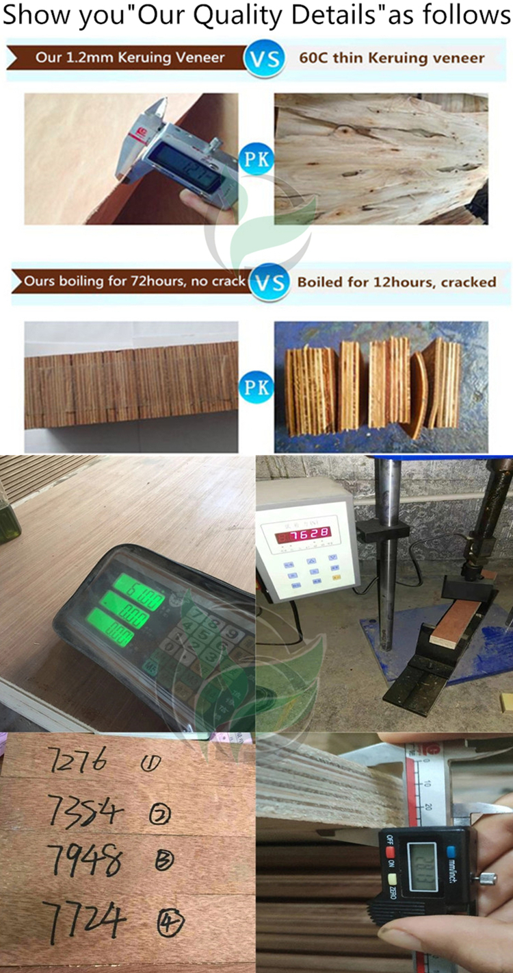 FSC Cheap waterproof marine plywood sheet use for container flooring E0 Glue Container Plywood repair price wood Floor Panel