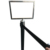 A3, A4 frame retractable belt stanchion top sign holder