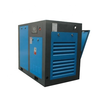 7.5KW 10HP portable air compressor 8bar 1.1m3 min capacity screw air compressor for industry machine